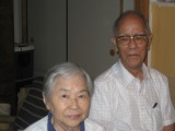 Kiyoko Imori and her husband, Hiroteru, at home in Yokohama (2009)